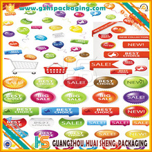 Customer order PVC sticker Popular and removable waterproof vinyl bathroom wall tile stickers