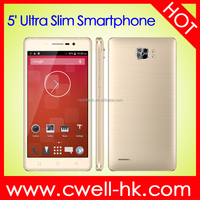 New Arrival Ultra Slim 5.0 Inch Screen X-BO Super 7 Dual SIM Card Mobile Phone Android Smartphone