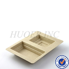 molded pulp disposable liners packaging tray