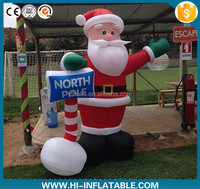 christmas decoration inflatable santa clause,santa inflatables