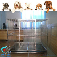 HK-CM0125 stainless animal clinic dog house