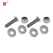 Most selling products customized high strength railway fish plate bolt and nut