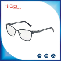 2016 popular metal optical frame Italy designer with high quality