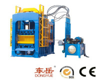 low cost high produce QT6-15 fully automatic fly ash brick machine/forma de bloco
