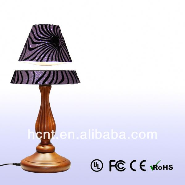 New Invention ! Electromagnetic levitating table light, eva lamp