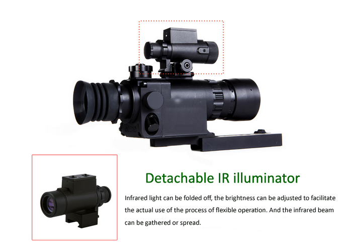 Super Gen1 Shockproof Night Vision Riflescope for Hunting and outdoor Activity