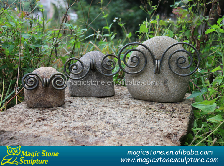 Natural small stone animal carving