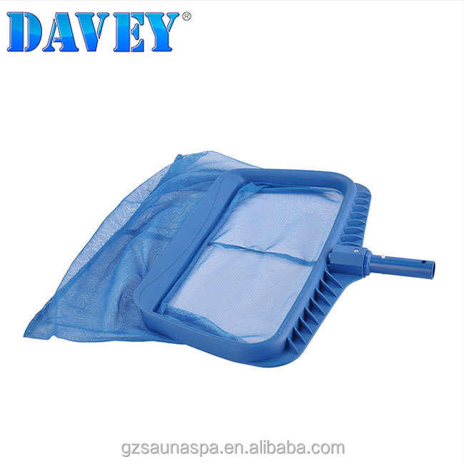Davey swimming pool hand skimmer and leaf rake