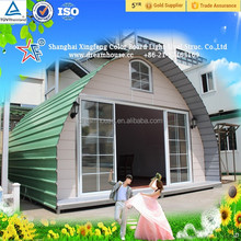 new style cheap arched cabin homes prefabricated tiny homes/light weight steel structure frame house View Room