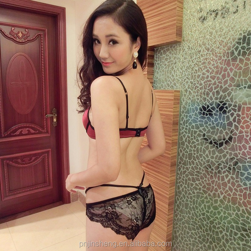 2016 Transparent sexy bra set women underwear fashion ladies sexy lace lingerie