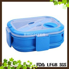 Wholesale Hot Sell Foldable Silicone Lunch Box