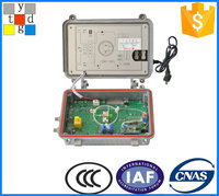 outdoor type Ftth catv outdoor 4 output Optical Receiver/ Node CATV (4way with return-35/47MHz-DFB 2mw) FTTH