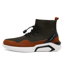 Top Quality Campaign Flynit Mens Casual Leather Sneakers