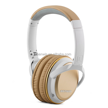 Amazon hot selling wireless headphones stereo v4.0 wireless headsets for PC, music player, mobile phone noise cancelling