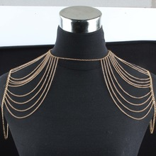latest design women shoulder sexy body jewelry wholesale
