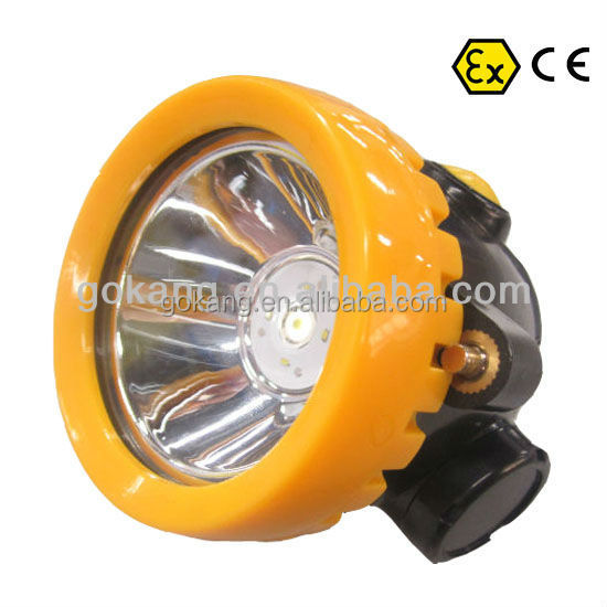 Wireless LED coal miner's cap lamps,ATEX approved mining light