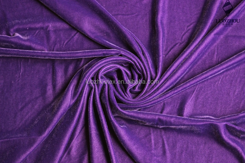 silk velvet of Arab dress fabric