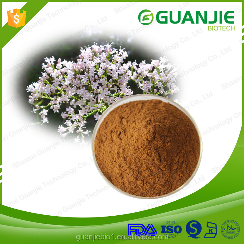 Natural Valerian Root Extract,0.8% Valeric Acid