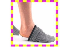 Safty new design heel footwear massager 3/4 Arch support EVA foam orthotic insole for flat foot boy sex shoe