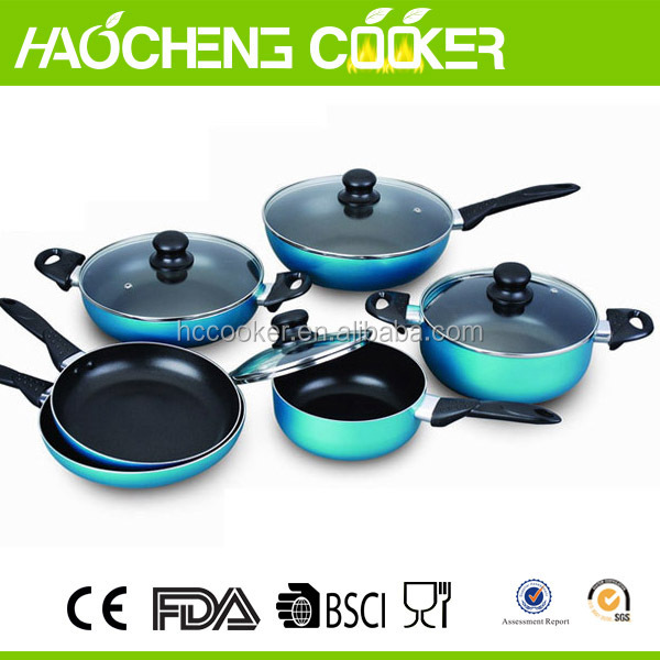 hot sell 2016 new item aluminium commercial cookware