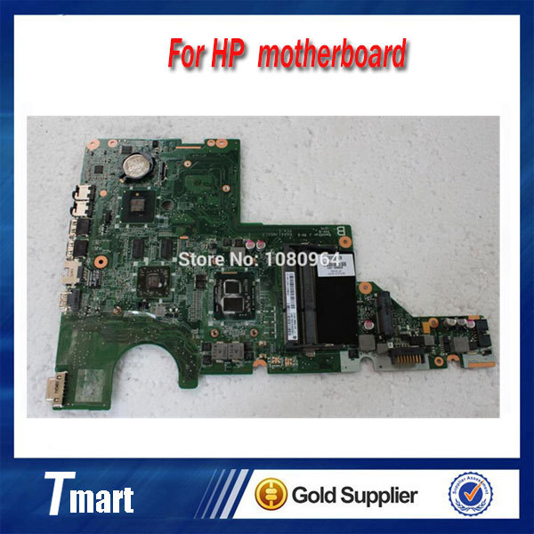 for hp compaq CQ42 CQ62 G42 G62 634649-001 laptop motherboard intel non-integrated with i3 100% tested