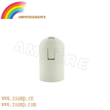 Zhongshan outlet Smooth E27 plastic adapter CE,Rohs certificated lamp base