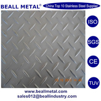 embossed stainless steel SS plate 321 316 301 price per kg