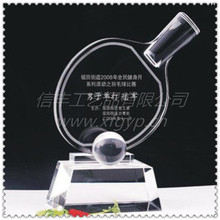Table Tennis Crystal Award\Ping-pong Trophy