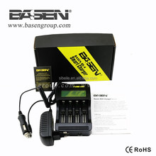 2015 New Product Basen BS4 Universal rechargeable 3.7V Li-ion Battery charger, 18650 battery charger