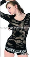 hot sexy image mesh seamless women tight tops