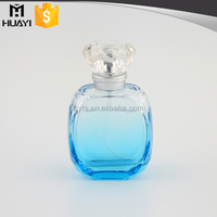 50ml wholesale colored empty glass crystal perfume spray bottles