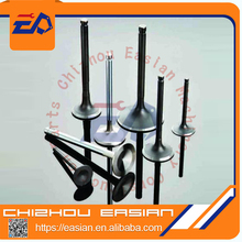 6QA1 E110 TRUCK BUS diesel engine valve FOR ISUZU intake valve 9-12551-150-0 exhaust valve 9-12552-254-0