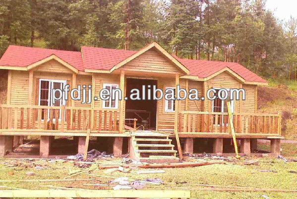 Ready made holiday Prefab wooden homes