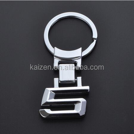 Fashion Zinc Alloy Metal Car Logo Chaveiro Keychain Key Chain Key Ring Keyring For BMW 5 Key Holder