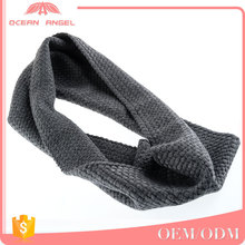 Practical and beautiful latest designs neckerchief thick pure wool neck tube scarf