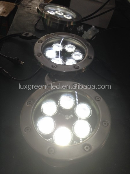 Underwater Stainless steel 6*8w RGBW 4in1 Led Underwater light with 3 Years warranty