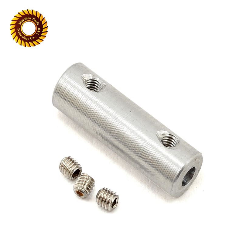 cnc cutting machining thread stainless steel aluminium pipe