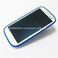 Silicon and Aluminum High Quality Mobile Phone Cover for I9300