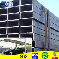 welded steel tube for fiberglass car parking shed
