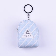 Wholesale custom simple coin purse zipper coin purse