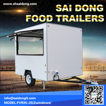 China Australia standard mobile food trailer mobile ice cream trailer for popular selling