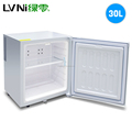LVNI 30L mini fridge transparent door glass display showcase commercial zero refrigerator
