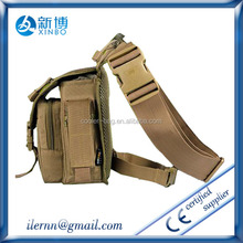 custom most fashion sport military waist leg bag