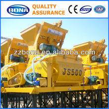 JS500 high productivity manual dry kinzo concrete mixer