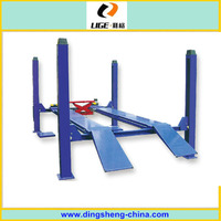 manufacturer good quality hydraulic 4-Post Closed Front wheel lifter