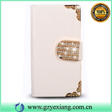 Luxury Skin Leather Portfolio Case For iPhone 5 5S Flip Cover