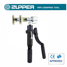 Zupper HZ-1240 Manual Hydraulic Sleeve Press Tool Plumbing Pipe Fitting Tools
