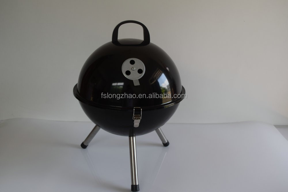 Factory Direct Sale barbecue grill designs small charcoal bbq grill helmet