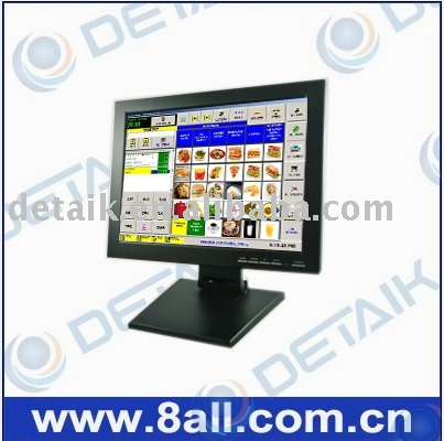 15 inch Touch Screen LCD Monitor; Resistive Touch Screen