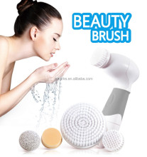 2017 facial cleaning soft hair face washing rotating brushes cleaner
